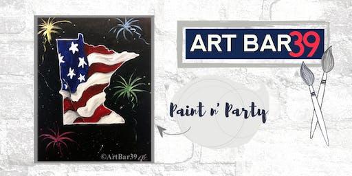 Paint & Sip | ART BAR 39 | Public Event | MN Celebrate