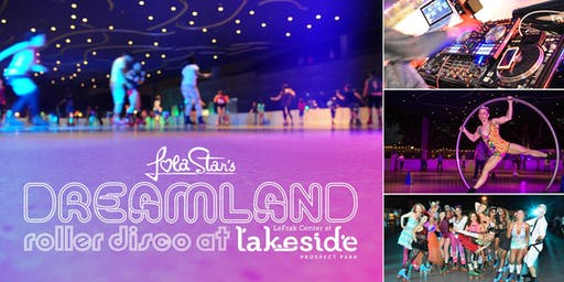 Pop Divas of the 80s vs the 90s at Dreamland Roller Disco at Lakeside Brooklyn