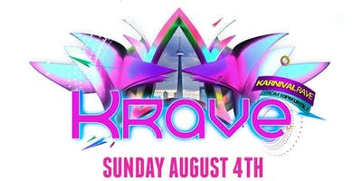 KRAVE 2019 - THE KARNIVAL RAVE | SUNDAY AUGUST 4TH INSIDE LUXY NIGHTCLUB