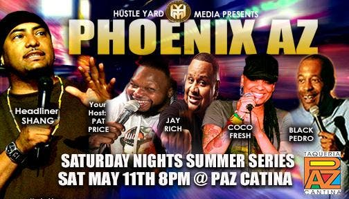 The Saturday Nights Comedy Summer Series