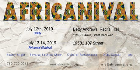 Africanival 2019 tickets