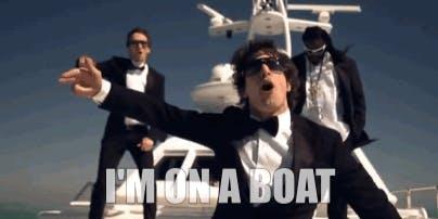 I´ m On A Boat w/ Durch Die Nacht & Freunde Legen Auf.