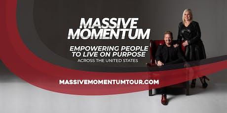 MASSIVE MOMENTUM TOUR  AUGUST 8, 2019 - NEW ORLEANS, LA tickets