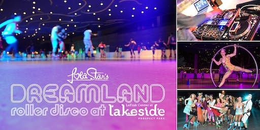 Flashdance vs Dirty Dancing at Dreamland Roller Disco at Lakeside Brooklyn