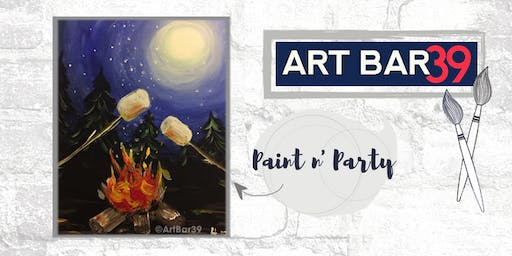 Paint & Sip | ART BAR 39 | Public Event | Perfectly Roasted
