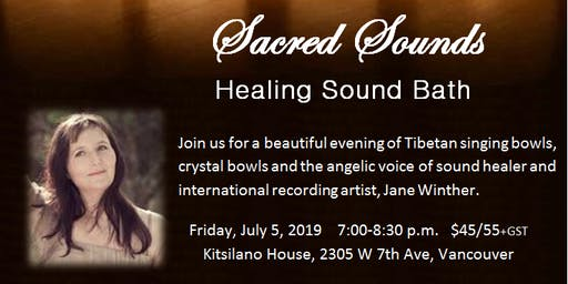 Sacred Sounds Healing Sound Bath 4 TICKETS LEFT