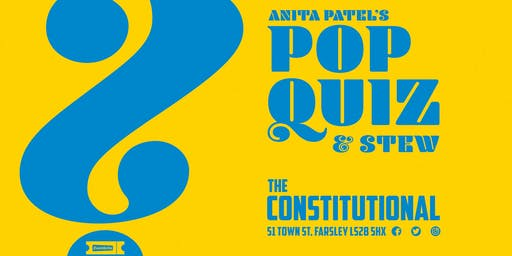 Anita Patels Pop Music Quiz And Stew