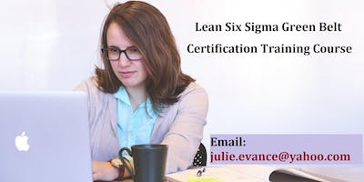 Lean Six Sigma Green Belt (LSSGB) Certification Course in Yellowknife, NT