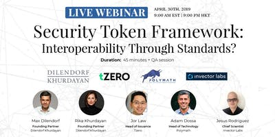 Security Token Framework: Interoperability Through Standards? | Live Webinar | Zurich, Switzerland