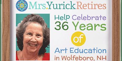 Mrs. Yurick Retirement Party
