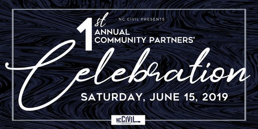 NC Civil presents Community Partners' Celebration