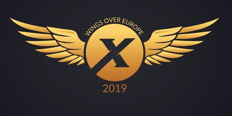 Wings Over Europe 2019 billets
