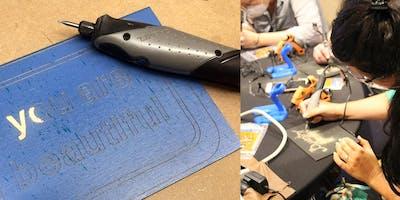 Carve By Number - Digital Detox Workshop