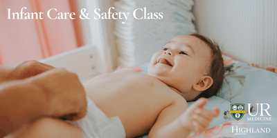 Infant Care & Safety Class, Sunday 7/28/19