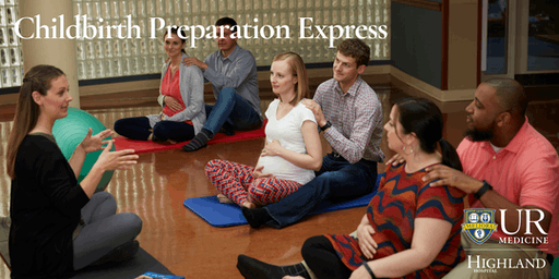 Childbirth Preparation Express, Saturday 7/27/19