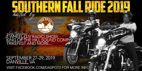 Southern Fall Ride 2019 tickets