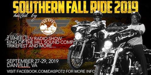 Southern Fall Ride 2019