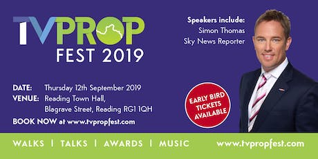 TVPropFest19 - 12th September 2019 tickets