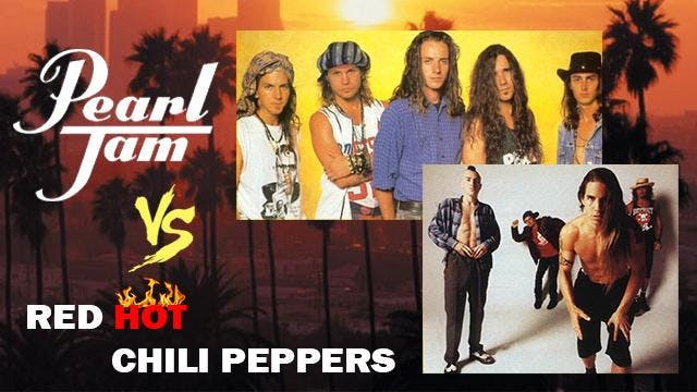 Pearl Jam vs. Red Hot Chili Peppers: Live Band Tribute