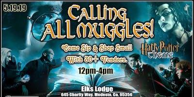 Calling all Muggles, come sip & shop