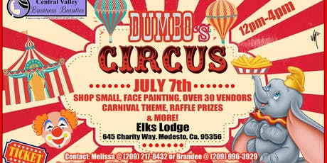 Shop Small At Dumbo's Circus tickets