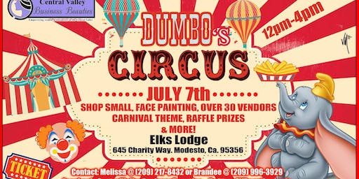 Shop Small At Dumbo's Circus