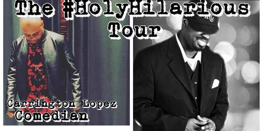 The #HolyHilarious Tour comedy concert