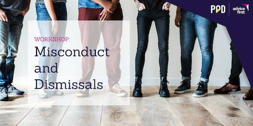 Misconduct & Dismissals