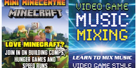 Mini MineCentre + Video Game Music Mixing tickets