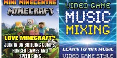 Mini MineCentre + Video Game Music Mixing