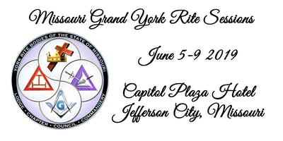 2019 Grand York Rite of Missouri Grand Sessions