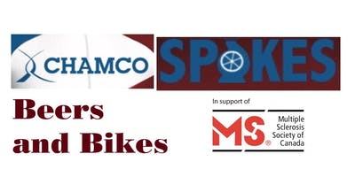 Chamco Spokes MS Bike 2019 Fundraiser: Beers and Bikes
