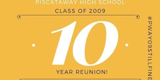 Piscataway HS  C/O 2009 10 Year High School Reunion
