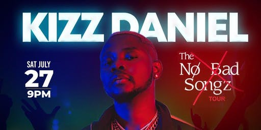 KIZZ DANIEL LIVE IN CINCINNATI, OHIO SATURDAY JULY 27th