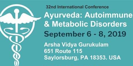 Ayurveda: Autoimmune & Metabolic Disorders tickets
