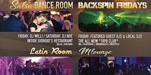 Friday 4 Room Nightlife [Banda] / [Hip Hop/Top 40] / [80's/90's] / [Salsa]