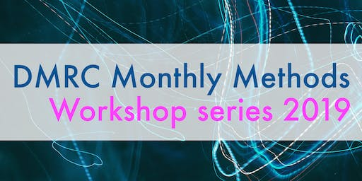 DMRC Monthly Methods 2019 #7: Network visualisation using Gephi