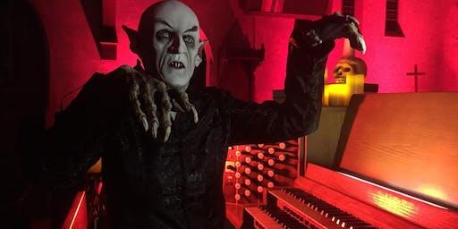 Dorothy Papadakos, organist, with Silent Film - Nosferatu