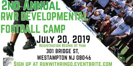 2nd Annual RWR Developmental Football Camp tickets