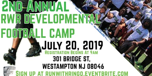 2nd Annual RWR Developmental Football Camp