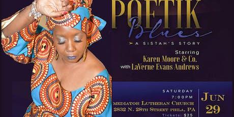 Karen Moore's Poetik Blues: A Sistah's Story tickets