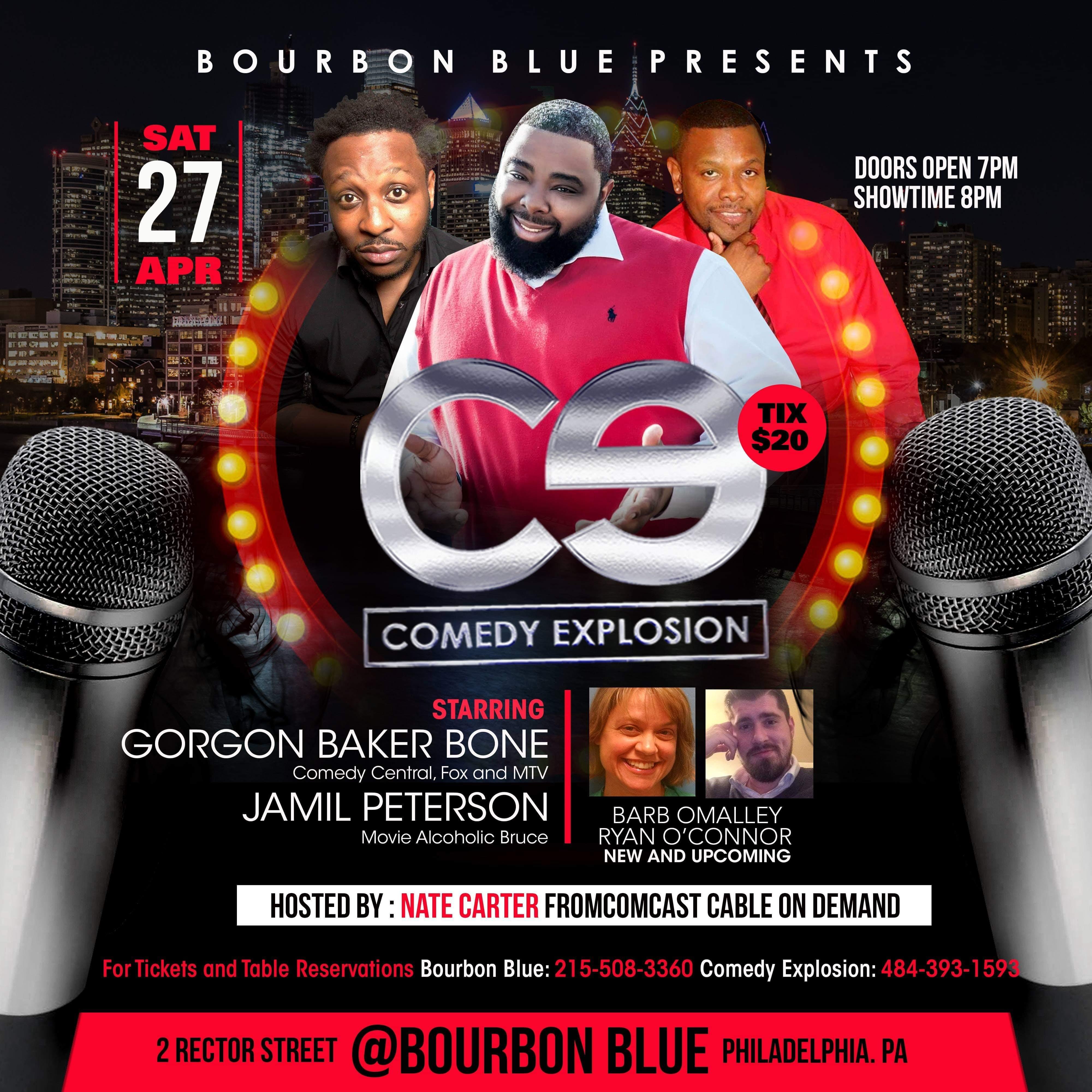 Laughs at Bourbon Blue