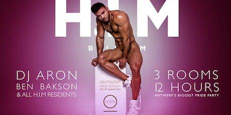 H.I.M Antwerp Pride Edition billets