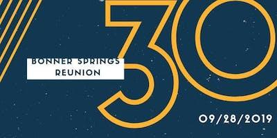 Bonner Springs 30 Year Reunion