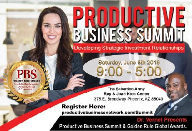 Productive Business Summit & Golden Rule Global Awards