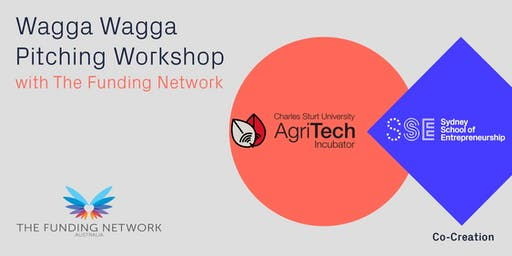 Wagga Wagga Pitching Workshop with The Funding Network