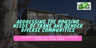 Addressing the housing needs of trans and gender diverse communities: Lessons from Victoria