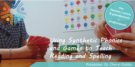Using Synthetic Phonics and Games to Teach Reading and Spelling tickets