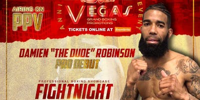 """Damien """"The Dude"""" Robinson Live Pro Boxing Event 5/25/19"""