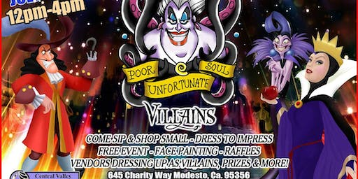 Poor Unfortunate Souls Sip & Shop Small Event